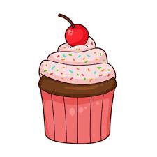 Cartoon Cupcake Transparent Png Stickpng