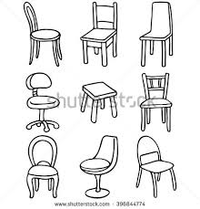 armchair drawing step by step. set of chairs. simple line drawings armchair drawing step by