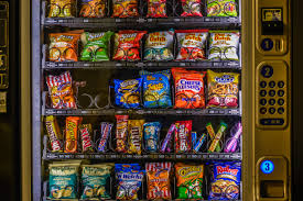Sweets Vending Machine Beauteous Picture Of A Vending Machine With Chips Sweets