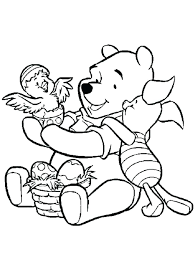 Disney Easter Coloring Pages Coloring Pages Mickey Bunny Coloring
