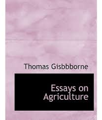 essay agriculture essay