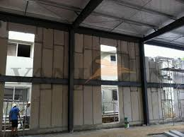 100mm sand cement eps foam construction panels for hotel exterior concrete wall panels