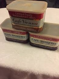 Cafe au lait, the smooth, light coffee with a deep french roast flavor. 3 Vintage General Foods International Coffee Tin Cans Cafe Amaretto Cafe Vienna 2 99 Picclick