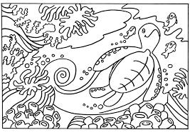 Gratis Kleurplaat Schildpad Malvorlage Schildkrte Ausmalbild 18663