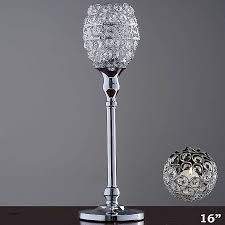 beautiful table top chandelier 16 candle holder inspirational 16 tall crystal beaded goblet votive tealight of