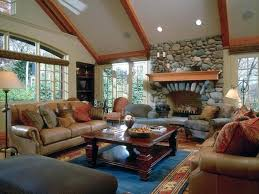 vaulted ceiling fireplace living room with full stone fireplace and vaulted ceiling traditional living room vaulted vaulted ceiling fireplace