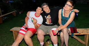Camping Out Having The Best Time Ever At A Summer Camp For LGBTQ.