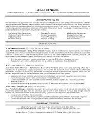 Sample Salesperson Resume Automobile Salesperson Resume Car Salesman Cover Letter Sample For