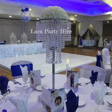 3 tier 90cm tall crystal chandelier centrepiece 35cm diameter top plate with set up 20 2 tier 90cm tall crystal chandelier centrepiece