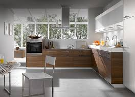 ... Delightful Images Of Kitchen Decoration Using Compact Kitchen Cabinet :  Engaging Modern L Shape Kitchen Decoration ...