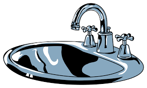 Bathroom Sink Clips Kitchen Sink Clipart Diomediaco