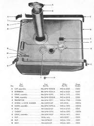 willys jeep parts diagrams illustrations from midwest jeep willys mb gpw fuel tank