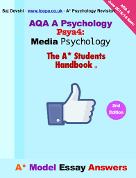 media psychology predictions loopa psychology revision aqa psychology psya4 media psychology model essay answers