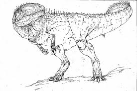 Small Picture Realistic t rex coloring pages printable ColoringStar