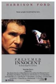 Presumed Innocent Film Custom PRESUMED INNOCENT MOVIE POSTER Harrison Ford Scott Turow44sht