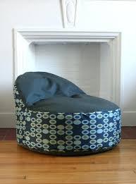 bean bag chair slipcover large bean bag chair cover made to order mod circle and textured bean bag chair