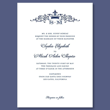 Royal Invitation Template Royal Wedding Invitation Template
