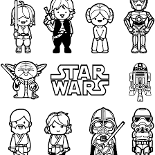 Coloring Pages Free Star Wars Coloring Pages Lightsabers Ewok Kids