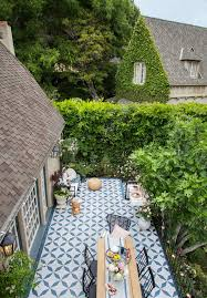 Patio ideas Designs From a Beautiful Mess This Is One Of The Best Diy Outdoor Patio Ideas We Have Seen what An Impact This Painted Patio Tile Diy Is The Perfect Solution The Garden Glove 15 Amazing Outdoor Patio Ideas The Garden Glove