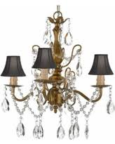 plug in chandelier lighting. Wrought Iron And Crystal Gold Chandelier Plug-in Hardwire With Shades Plug In Lighting