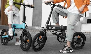 <b>HIMO Z16 Folding Electric</b> Bike 16 Inch in €586.49 @Tomtop Sale