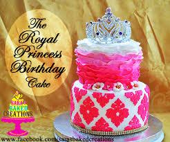 Sara Writes That Royal Princess Birthday Cake