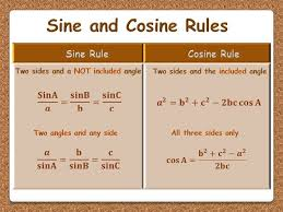 the sine and cosine rules animated powerpoint gcse