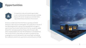 Powerpoint Real Estate Templates Business Real Estate Premium Powerpoint Template Slidestore