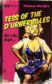 pulp book covers tess of the d urbervilles she s no angel