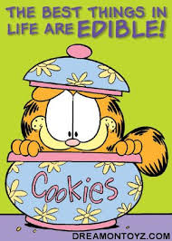 Garfield Cookie Jar Mesmerizing FREE Cartoon Graphics Pics Gifs Photographs Garfield Pictures