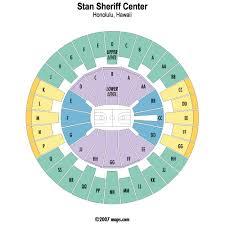 Stan Sheriff Center Honolulu Event Venue Information Get