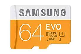 samsung micro sd 64gb evo