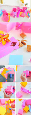 diy paper gift box garland last minute mothers day gift ideas diy diy birthday