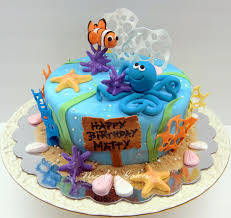 1 Year Old Boy Cake Design Under The Sea Cakes Year Old Boy S Under The Sea Themed