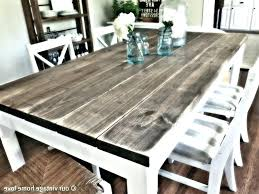 distressed dining table round distressed dining table diy