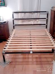 iron pipe furniture. Iron Pipe Bed Frame Diy Great Photo 47 Ideas Built With Keeklamp Diybedframe Pipefurniture 8 Furniture H