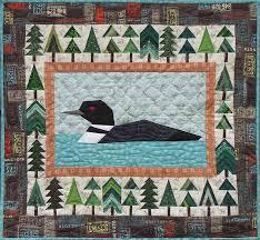 Northwoods Loon Quilt Pattern &  Adamdwight.com