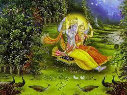Radha Krishna Ras Leela Wallpaper
