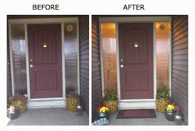 Spring Front Door Before and After