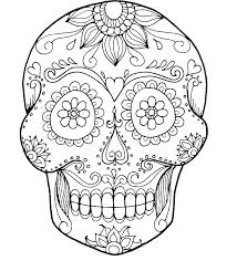 Skull And Crossbones Coloring Pages Skull Bones Coloring Pages Free