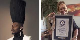 guinness world records woman s long nailan s hi top fade business insider