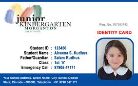 identity card template word beautiful student id card templates desin and sample word file