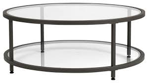 See more ideas about decor, coffee table, decorating coffee tables. Modern Coffee Table Pewter Metal Frame With Tempered Glass Top Contemporary Coffee Tables By Efurnish Houzz