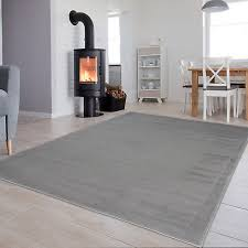 details about grey small extra large plain area rug for bedroom living room non shed floor mat