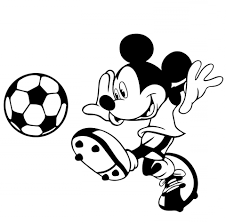 Mickey Mouse Clip Art Black (Page 1) - Line.17QQ.com