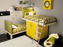 grey and yellow furniture. Furniture : Minimalist Kids Bedroom Yellow Painted Wood For Small Space Design Inspiration With Wardrobe Near Grey Iron And