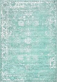 turquoise 4 x 6 ft rug modern traditional vintage inspired overdyed area rugs p