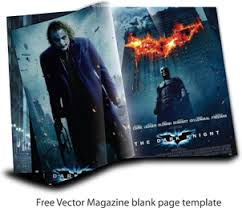 magazine or book cover template eps premium edit options inside free vector magazine page template