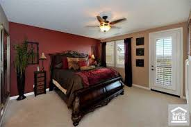 Red Accent Wall Bedroom Red Wall Master Bedroom Bedroom