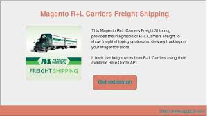 Freight Quote Magnificent Top 48 Shipping Extensions For Magento